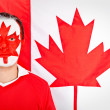 Patriotic Canadian man — Stock Photo #7758364