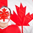 Patriotic Canadian man — Stock Photo #7758367