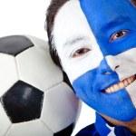 足球迷 — 图库照片