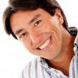 Stock Photo: Man smiling