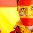 Patriotic Spanish woman — Stock Photo #7759976