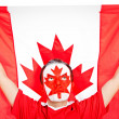 Patriotic Canadian man — Stock Photo #7759990