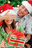Christmas surprise — Stock Photo