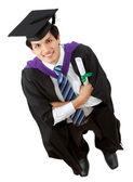 Ritratto di uomo di graduazione — Foto Stock