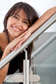 Lovely woman smiling — Stock Photo