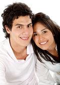 Retrato de hermosa pareja — Foto de Stock