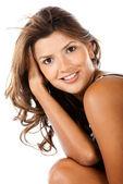 Beauty woman portrait — Stock Photo