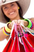 Einkaufen für den sommer — Stockfoto