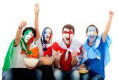 国际足球迷 — 图库照片