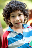 Little boy outdoors — Stock Photo
