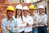 Group of architects and engineers — Stock Photo