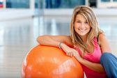 Gym female portrait — Stock Photo
