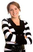 Business woman portrait — Zdjęcie stockowe