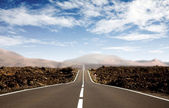 Road - career path — Stock Photo