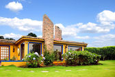 Beautiful countryside house — Stock Photo