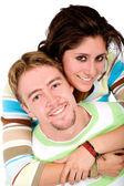 Красивая пара, весело — Стоковое фото