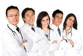 自信を持って医師のチーム — ストック写真