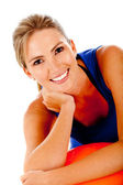 Sportive woman — Stock Photo