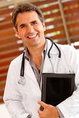 Mannelijke arts — Stockfoto