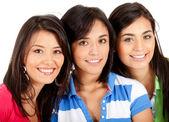 Group of girls — Stock Photo