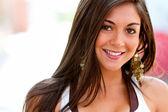 Beautiful woman portrait — Stock Photo