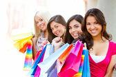 Shopping women — ストック写真