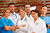 Group of doctors — Foto Stock