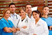 Grupp läkare — Stockfoto