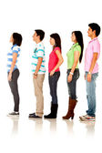 Casual queuing — Stock Photo