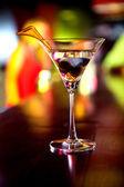 马提尼酒喝 — 图库照片