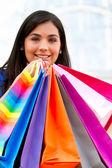 Shopping woman — ストック写真