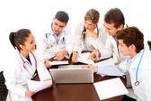 DoctorÕs meeting — Stock Photo