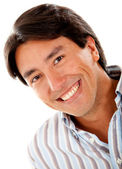 Man smiling — Stock Photo