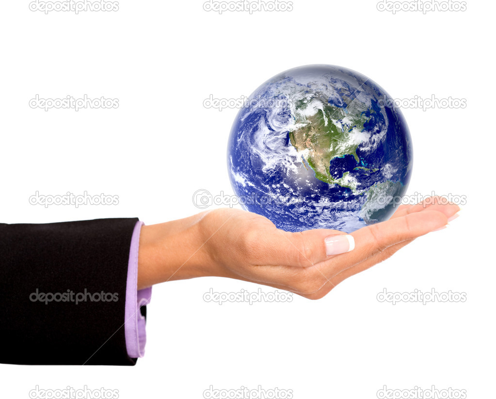 The world in the palm of your hand - business concepts  Stock Photo #7750532