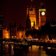 The Big Ben from the distance — Stock Photo #7760126
