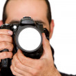 Male photographer — Stock fotografie