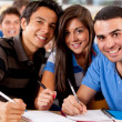 Group of students — Stock Photo