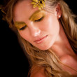 Greek goddess - Stock Photo