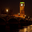 The Big Ben from the distance — Stock Photo