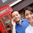 Couple on the phone — Stock Photo #7760316