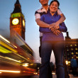 Couple in London — Stock Photo