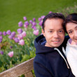 Beautiful couple portrait — Stock Photo #7760344