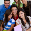 Group of students — Stock Photo #7760401