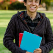 Foto de Stock  : Male student smiling