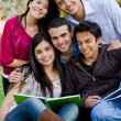 Group of students — Stock Photo #7761560