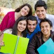 Group of students — Stock Photo #7761570