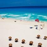 Praia de verão quente — Foto Stock