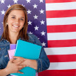 English female student — Stock Photo #7762262