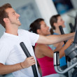 At the gym - Stock Photo