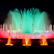Magic fountain of Barcelona - Stock Photo